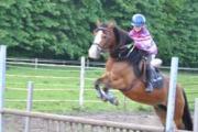 Lisa met paard Natasja